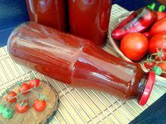 Bulion aromat cu ardei Hot Sauce Bottles, Food, Canning, Essen, Meals, Yemek, Eten