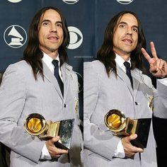 49th Grammy Awards #anthonykiedis #redhotchilipeppers #rhcp