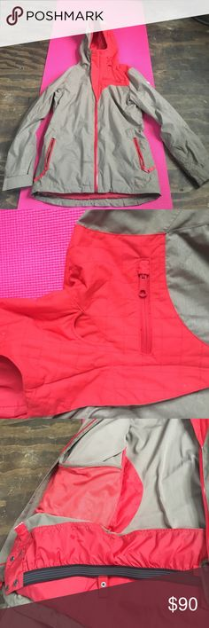 Women's Four square winter jacket Snowboarding jacket, great condition! Quilted look on hood! four square Jackets & Coats