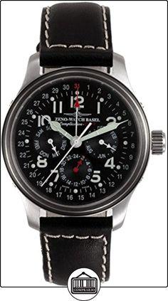 Zeno-Watch Reloj Mujer - NC Pilot GMT full calendar - 9590-a1  ✿ Relojes para mujer - (Lujo) ✿