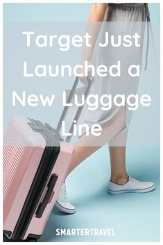 Target Just Launched a New Luggage Line—and Everything Is Under $180 Carry On Suitcase, Carry On Luggage, Travel Luggage, Weekend Packing List, Packing Tips, Myrtle Beach Hotels, Checked Luggage, Norwegian Cruise Line, Target Style