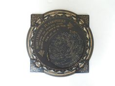 Antique 1880s Whittaker's Planisphere Made in Germany in A wonderful antique c. 1880s Whittaker's Planisphere comprising of five layers, four of which are thick cardboard,the fifth, sandwiched in the very center, being of paper and forming the main body and center of the dial with the constellations. The dial, when rotated to the current time and date, displays to the user the stars/constellations currently present in the sky above (at latitude 40 degrees north, which includes NYC). The…
