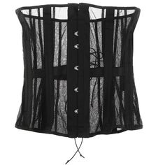 ID Sarrieri Vintage Style corset (1.105 BRL) ❤ liked on Polyvore featuring intimates, shapewear, corsets, lingerie, tops, underwear and women