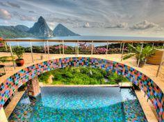 Jade Mountain, St. Lucia, spa