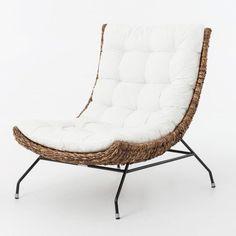Banana Leaf Woven Alik Accent Chair