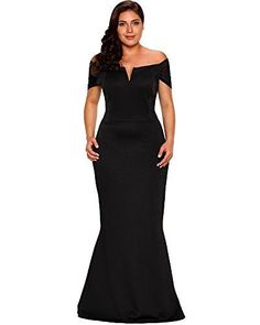 Shop a great selection of Lalagen Lalagen Women's Plus Size Off Shoulder Long Formal Party Dress Evening Gown. Find new offer and Similar products for Lalagen Lalagen Women's Plus Size Off Shoulder Long Formal Party Dress Evening Gown. Plus Size Formal Dresses, Plus Size Gowns, Dress Plus Size, Plus Size Evening Gown, Evening Gowns, Evening Party, Very Short Dress, Maxi Robes, Mode Chic