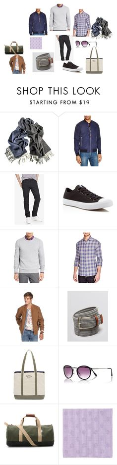 """""""Homework Unique Prep"""" by jocelewis on Polyvore featuring Penfield, Express, Converse, Ted Baker, Billy Reid, The Men's Store, Owen & Fred, Simonnot Godard, men's fashion and menswear"""