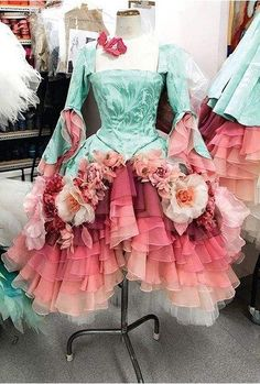 This is such a beautiful costume from The Sleeping Beauty ballet :) I love it so much!!