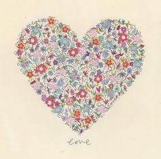 love / original artwork by kimartwork on Etsy, £20.00