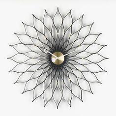 Reloj moderno / analógico / de pared / de metal SUNFLOWER : 1948/1960 vitra