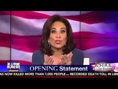 Judge Jeanine Pirro's Opening Statement 12.20.14   YouViewed/Editorial