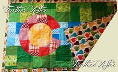 Show your love for the Centennial state with one of these gorgeous, hand pieced quilts! Whether its the Rocky Mountains or the 300 days of sunshine