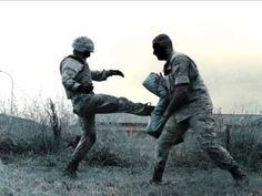 Military Krav Maga training