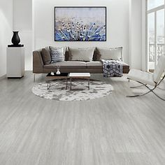 $99 LifeProof 16-inch x 32-inch Capitola Silver Luxury Vinyl Tile Flooring (24.89 sq. ft. / case) | The Home Depot Canada