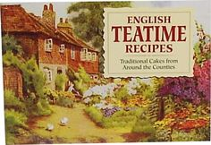 This little book is part of a collection of small recipe books with traditional English recipes from all different counties. This one is for Teatime Cakes. The one that is in my collection is called Favourite Chocolate Recipes-delicious Cakes, Puddings and Sweets. The books are beautifully illustrated with gardens & cottages.