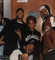 Yes, please. COMMON, ERYKA BADU, RZA, & METHOD MAN