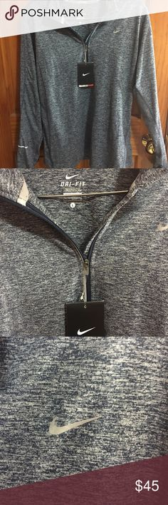 Nike Women's Running Top (L) New, Nike, never worn with tags. For running. Dri Fit. Size Large. Fitted Nike Tops Sweatshirts & Hoodies