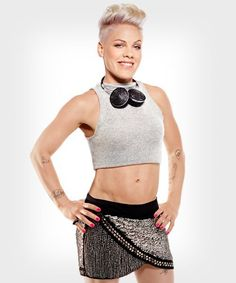 Pink wearing M.C.L by Matthew Campbell laurenza ring, 2013