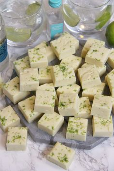 Gin and Tonic Fudge - Jane's Patisserie