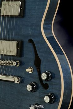Gibson Memphis ES-339 (Quilted Blue) Demo | Sweetwater.com