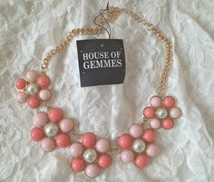 Necklace from House of Gemmes, in love!