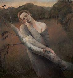 "OcéanoMar - Art Site: Odd Nerdrum ""Melancholia"" (Portrait of Bork)."