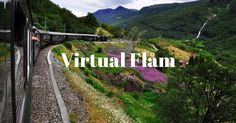Experience Norways famous flåmsbana with Virtual Flåm: A panoramic tour of one of the most beautiful train journeys in the world. Augmented Reality, Virtual Reality, Norway Landscape, Train Route, Fjord, Immersive Experience, Train Journey, Exotic Places, World's Most Beautiful