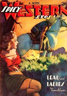 SPICY WESTERN cover art by peterpulp.deviantart.com on @deviantART