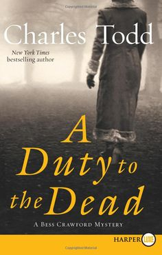 Takes place in 1917 England during WWI. An interesting take on things as it is narrated from the perspective of and English nursing sister during the war.