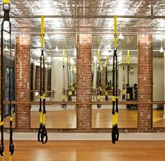 The Studio by Remorca Fitness (NYC) *I want a home gym that looks like this!*