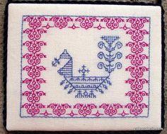 Kasuti - Peacock Pillow