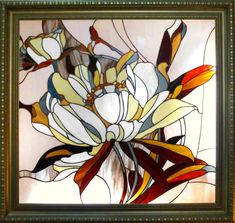 Stained glass as the abstract picture #StainedGlassAbstract