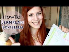 How-to: Lernplan erstellen & Zeitplanung für ein stressfreies Lernen - YouTube