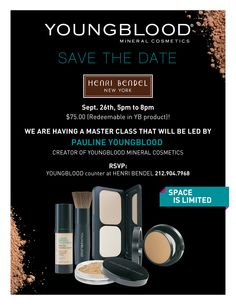 Master Class at Henri Bendel with Pauline Youngblood.