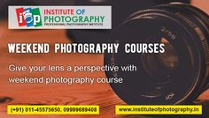 #Weekend_Photography_Courses will give a fair understanding of photography courses, camera operations, and handling techniques. To know more, you can visit our website.