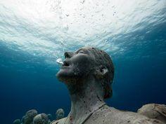 underwater permanent museum, Mexico