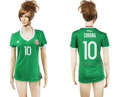 http://www.xjersey.com/201617-mexico-10-corona-home-women-soccer-jersey.html 2016-17 MEXICO 10 CORONA HOME WOMEN SOCCER JERSEY Only 33.11€ , Free Shipping!
