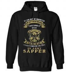 US Army Sapper - #tshirt jeans #hoodie kids. BUY-TODAY => https://www.sunfrog.com/Jobs/US-Army-Sapper-7660-Black-Hoodie.html?68278