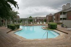 Poolside and deck view at The Indian Creek Apartments in Carrollton, TX 24 Hour Service, Indian Creek, High Resolution Photos, Apartments, Deck, Photo And Video, Outdoor Decor, Front Porches, Decks