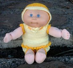 MamaHooks Pattern Page: Cabbage Patch Sun Suit w/ Hat 12