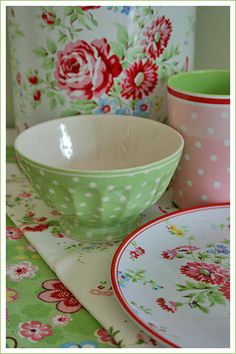 Greengate - like these but don't think I want to lug glass around. Pain to pack up