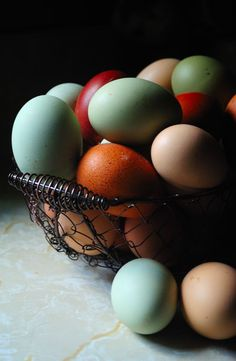 the beauty of eggs...