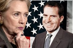 Clinton is a lot closer to Richard Nixon than Trump is, but she's really a Cold War liberal left behind by history