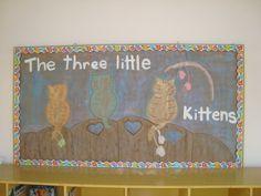 Celebrando la semana del libro. Portada de The Three Little Kittens. KB 2011