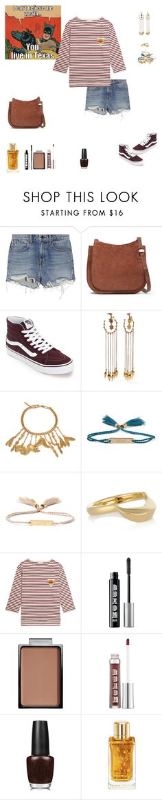 """""""It Doesn't Feel Like Fall Anymore"""" by sereneowl ❤ liked on Polyvore featuring Alexander Wang, The Row, Chloé, Chinti and Parker, Buxom, OPI and Lancôme"""