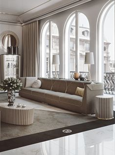 Sofa with elegant and rigorous lines enriched by stitching and gold zip, details featuring a unique element. Living Room Wall Designs, Blue Living Room Decor, Formal Living Rooms, Living Room Sofa, Home Decor Hacks, Home Decor Furniture, Luxury Furniture, Sofa Set Designs, Sofa Design