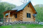 Andy Mountain   Andy Mountain Cabins is the prime log cabin choice for lodging or motels in Northeast Iowa, Allamakee County, Harpers Ferry Ia, Prairie du Chien WI or Mcgregor Iowa        Log Cabins