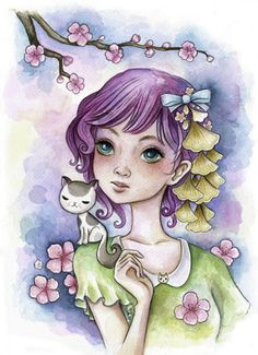 Jeremiah Ketner is an American artist. His bright colors and whimsical artworks are inspired by nature and Japanese culture.