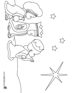 Wise Men Coloring Page - 32 Wise Men Coloring Page , Three Kings Day Coloring Pages Los Tres Reyes Magos Leaf Coloring Page, Mermaid Coloring Pages, Flower Coloring Pages, Adult Coloring Pages, Christmas Artwork, Christmas Drawing, Christmas Crafts For Kids, Christmas Colors, Nativity Clipart