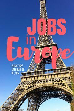 Jobs in #Europe!